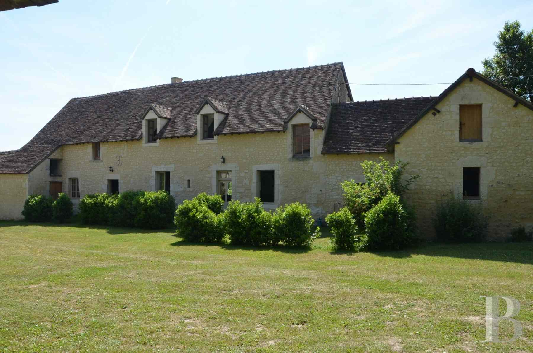A 16th century manor house dominating undulating french for French countryside real estate