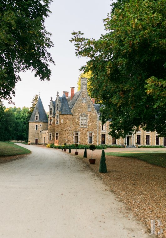 fA family chateau classified as a historic monument on a 400-hectare estate between Le Mans and Ferté-Bernard - photo n°11