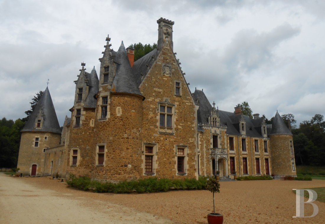fA family chateau classified as a historic monument on a 400-hectare estate between Le Mans and Ferté-Bernard - photo n°3