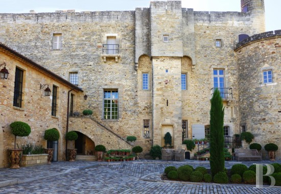 Castles / chateaux for sale - languedoc-roussillon - A castle overlooking parklands and countryside  on the outskirts of a small village, a short distance from Uzès