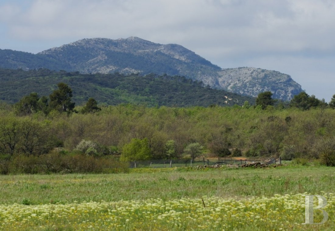 Hunting grounds for sale - provence-cote-dazur - A 220 ha hunting estate and a traditional Bastide house, a former bar-hotel-restaurant, and its outbuildings in the rural area around Aix-en-Provence at the foot of Mount Sainte-Victoire