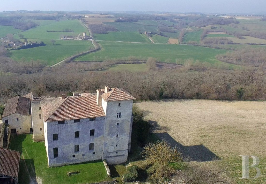 Castles / chateaux for sale - midi-pyrenees - A listed, village castle on an estate  with 3 continuous hectares in Gascony