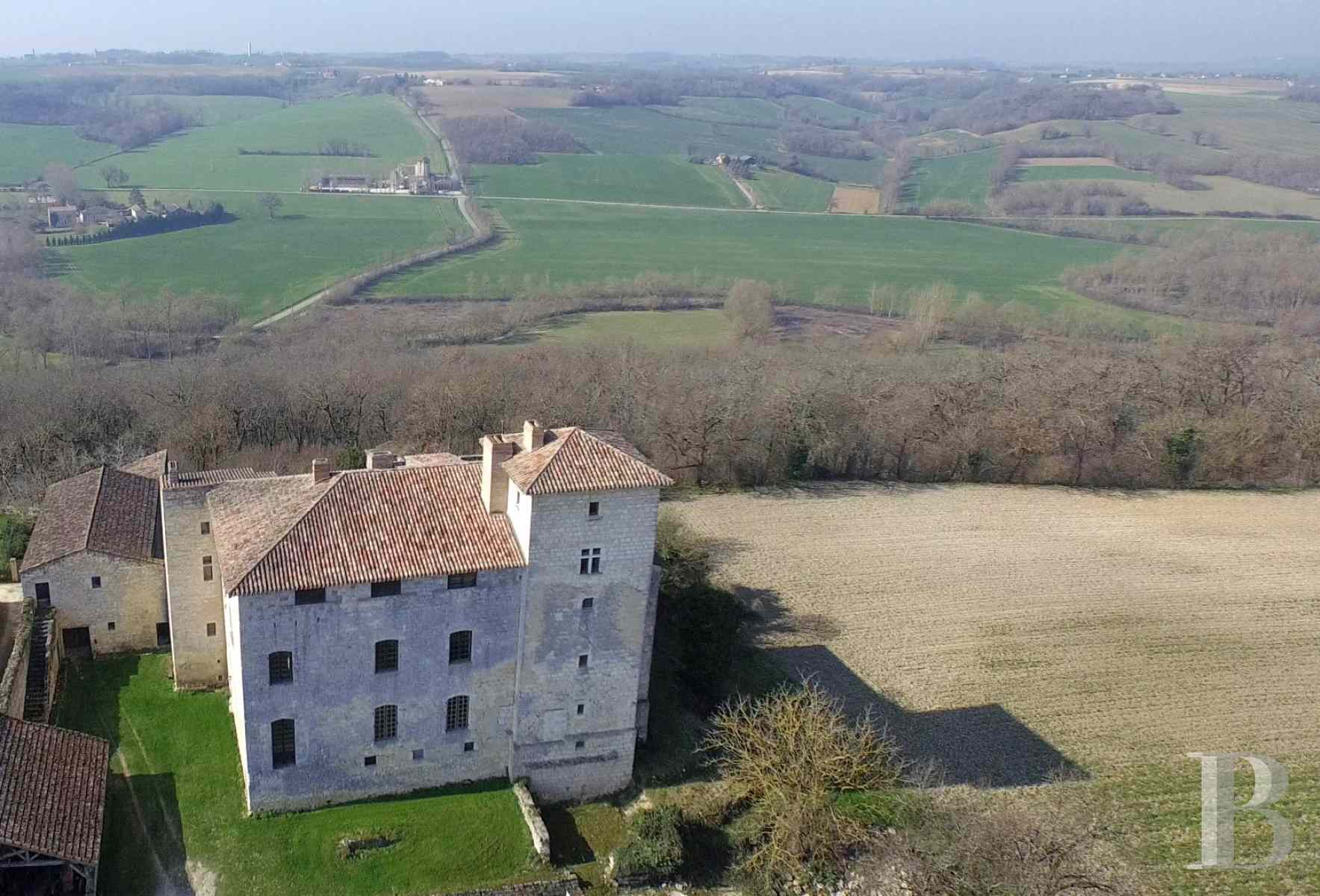 chateaux for sale France midi pyrenees medieval castle - 1 zoom