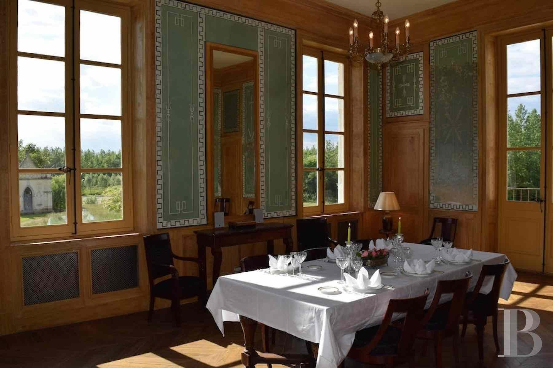 chateaux for sale France champagne ardennes neo palladian - 6 zoom