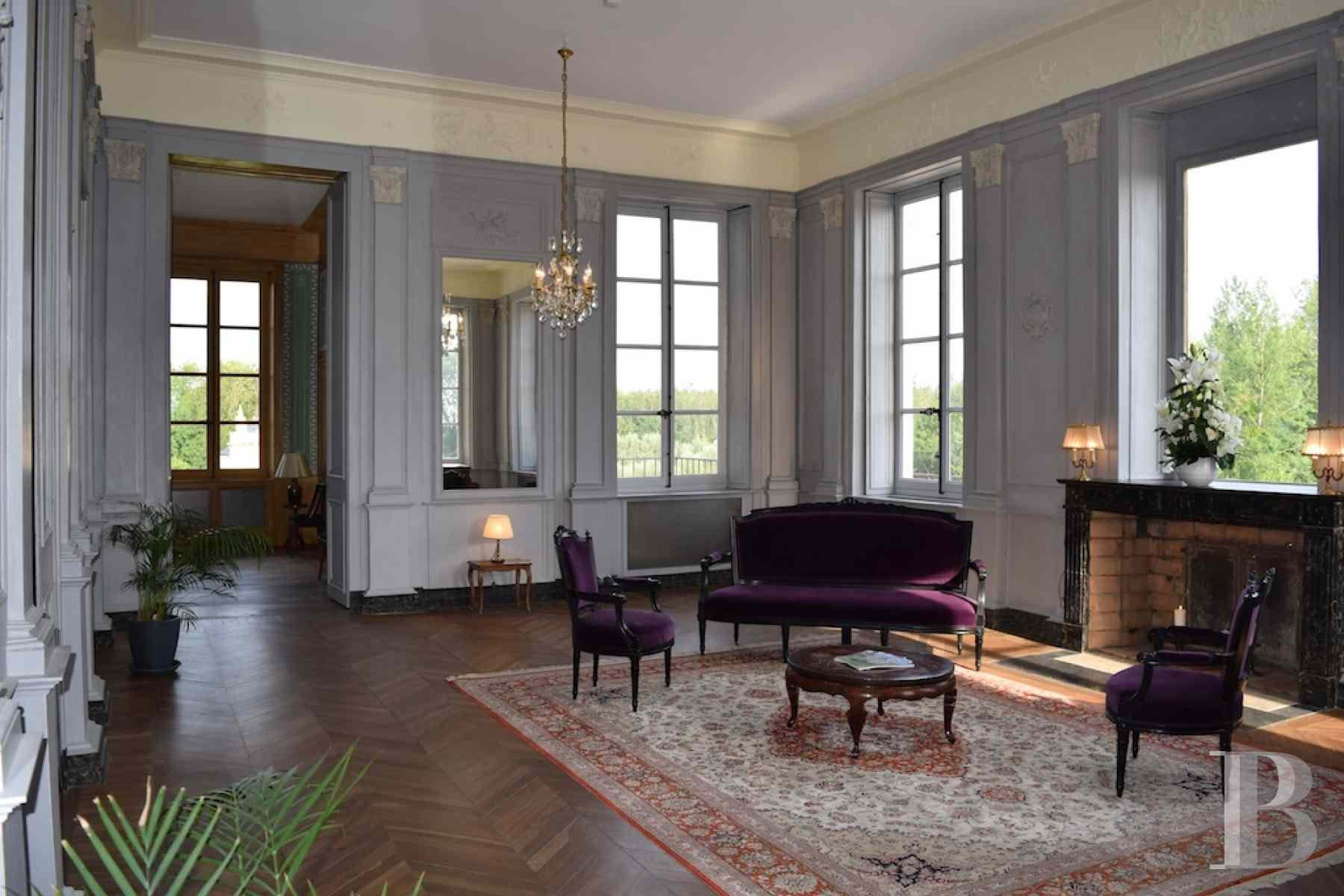 chateaux for sale France champagne ardennes neo palladian - 3 zoom