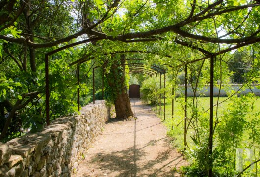 A small village chateau  with a remarkable garden  in Ardèche - photo  n°40