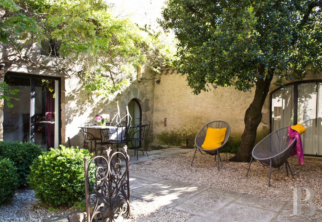 A small village chateau  with a remarkable garden  in Ardèche - photo  n°9