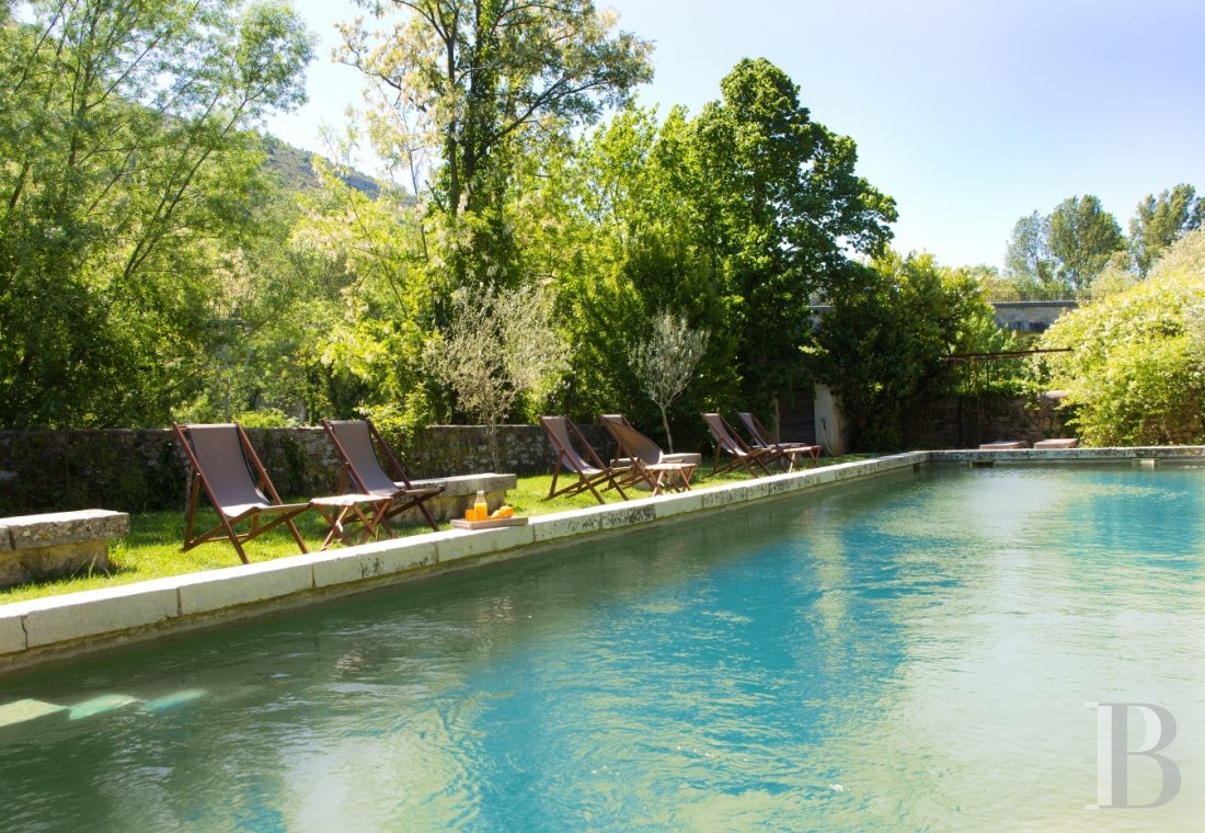 A small village chateau  with a remarkable garden  in Ardèche - photo  n°10