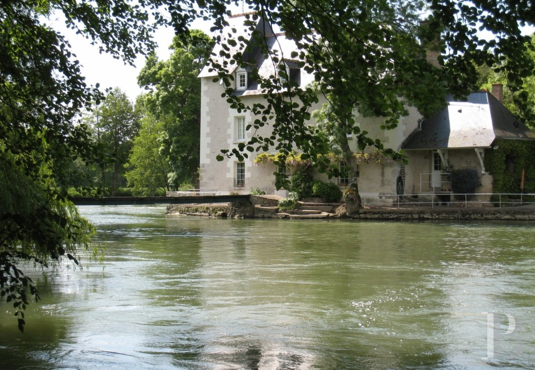 mills for sale France center val de loire riverside parkland - 3