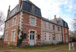 Manors for sale - center-val-de-loire - 2 hours south of Paris,-19th century manor house in 70 ha (173 acres)