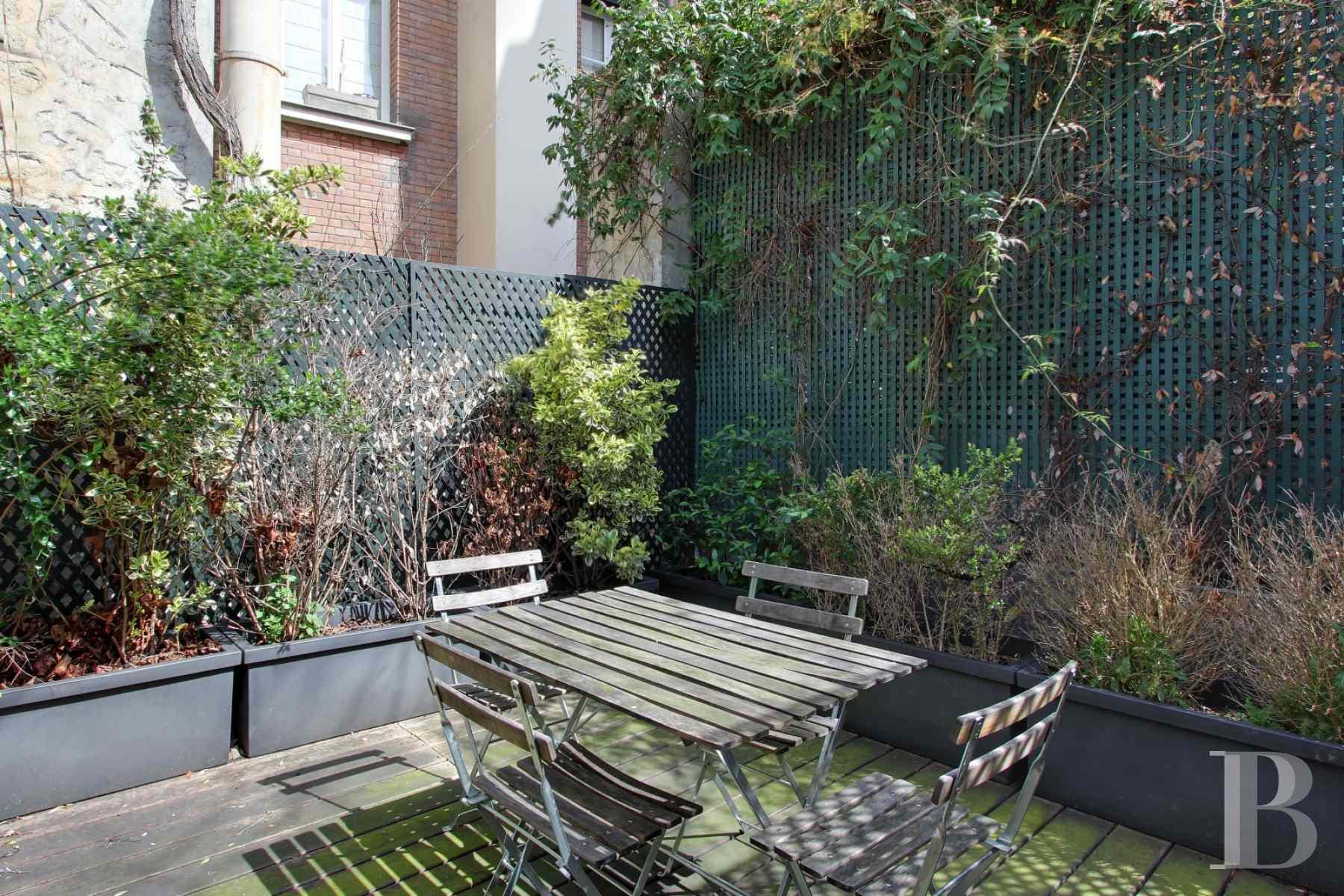 A deux pas du lut tia et du bon march une maison de for Agence immobiliere specialisee terrasse paris