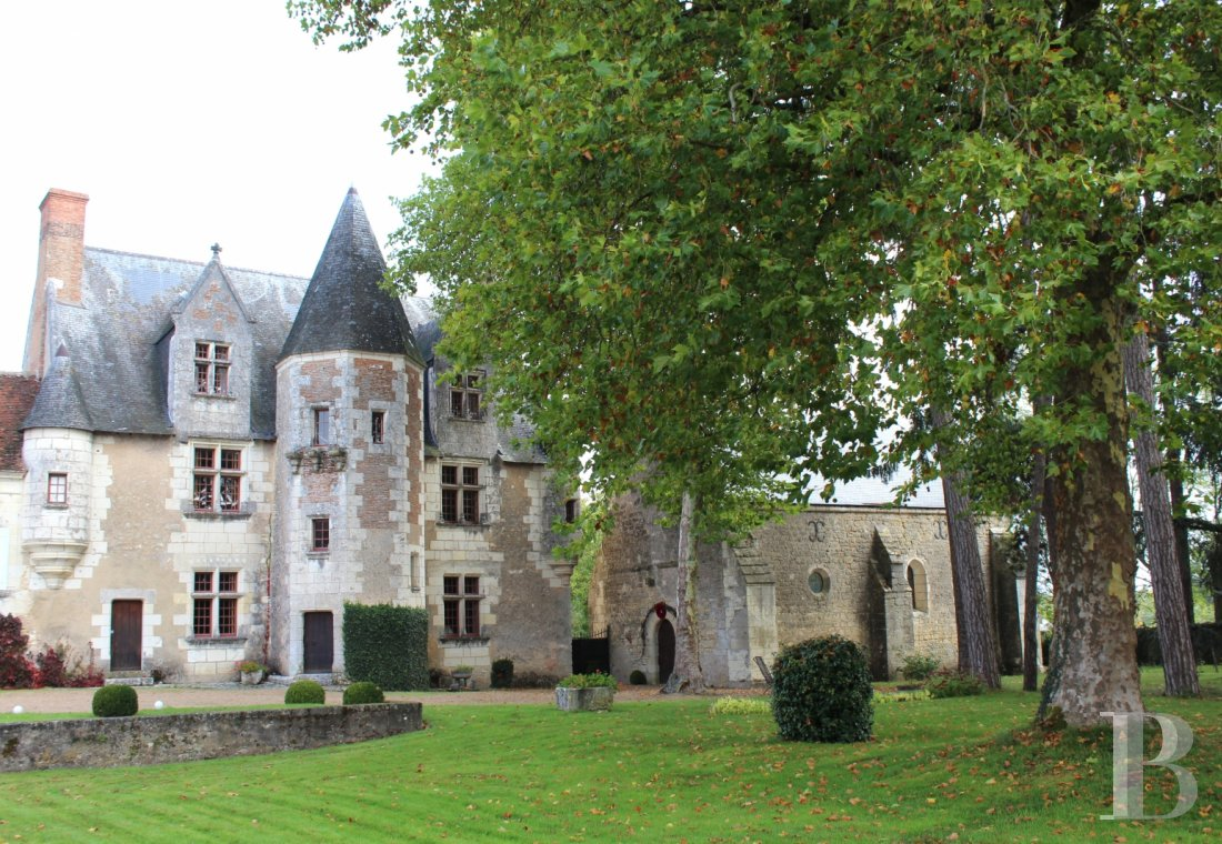 Manors for sale - center-val-de-loire - A manor house and its chapel, both listed, between vines and village in the Touraine region