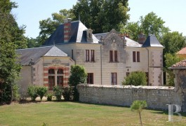 Manors for sale - poitou-charentes - Where the regions of Touraine,Anjou, Poitou converge, 19th century manor house in 9 ha