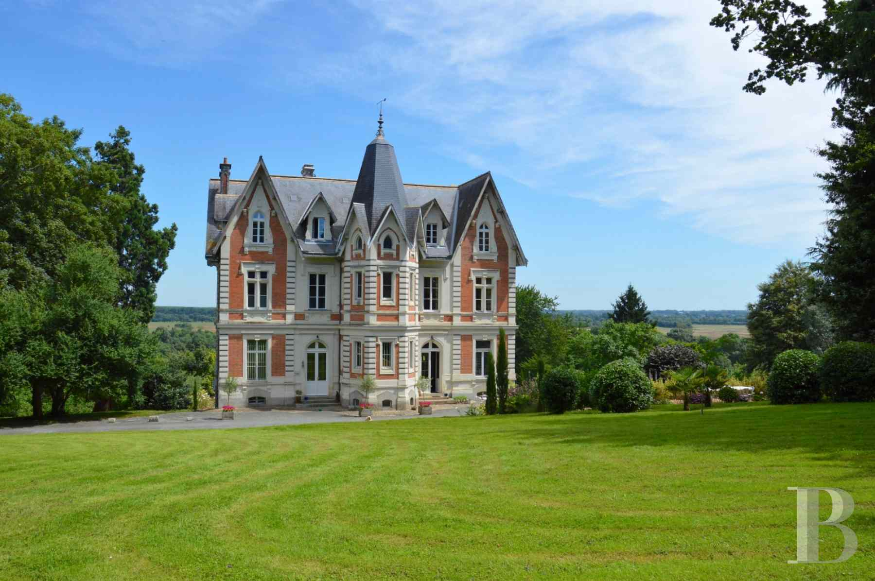 chateaux for sale France pays de loire angers 19th - 1 zoom