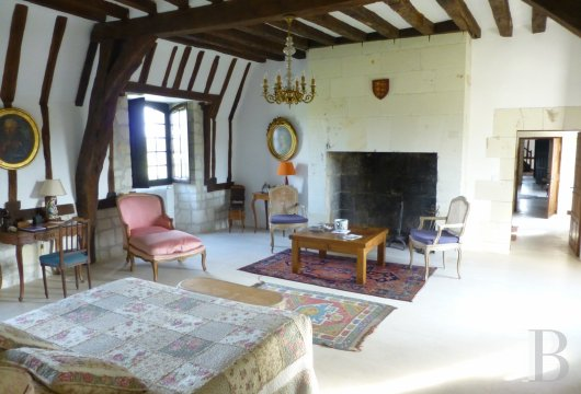 fA peaceful 17th Century property surrounded by French-style gardens, on the borders of Touraine, Anjou and Poitou in Chinonais  - photo  n°14