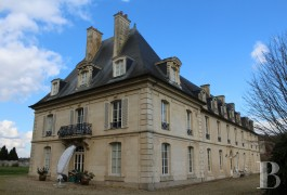chateaux for sale France lower normandy 18th 19th - 4