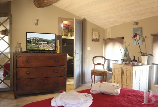 A guest house that was once a village grocery store located at the foot of Montagnette and the castle of Boulbon near to Avignon  - photo N°17