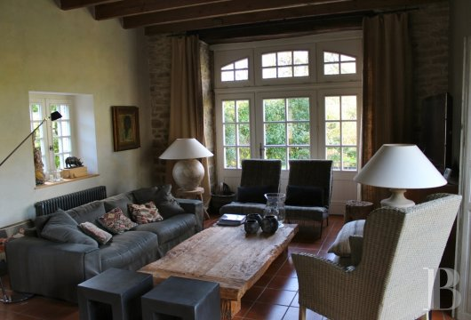 character properties France brittany house bigouden - 4 mini