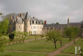 Historic buildings for sale - pays-de-loire - In the Upper Anjou region, 15th, 16th & 17th listed castle in a 71 ha (175.4 acre)estate