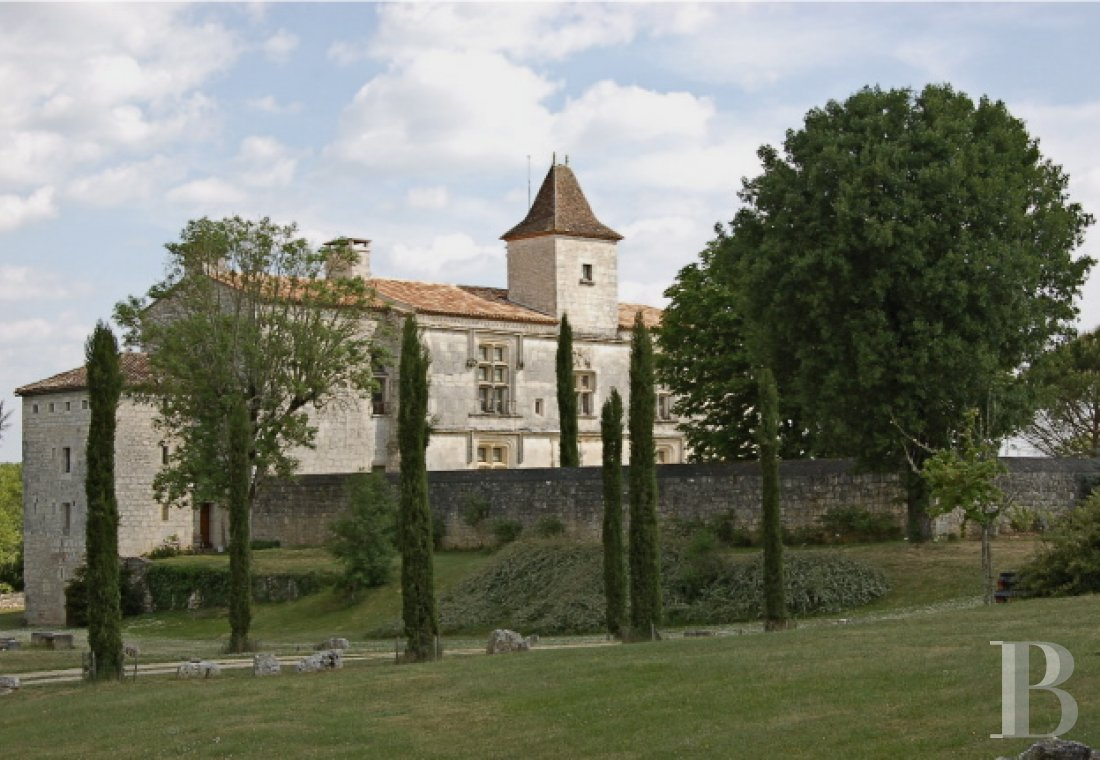 chateaux for sale France midi pyrenees chateau quercy - 2