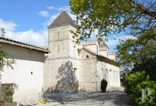 A 25 ha vineyard and its Directory style residence in the Côtes-de-Blaye  area