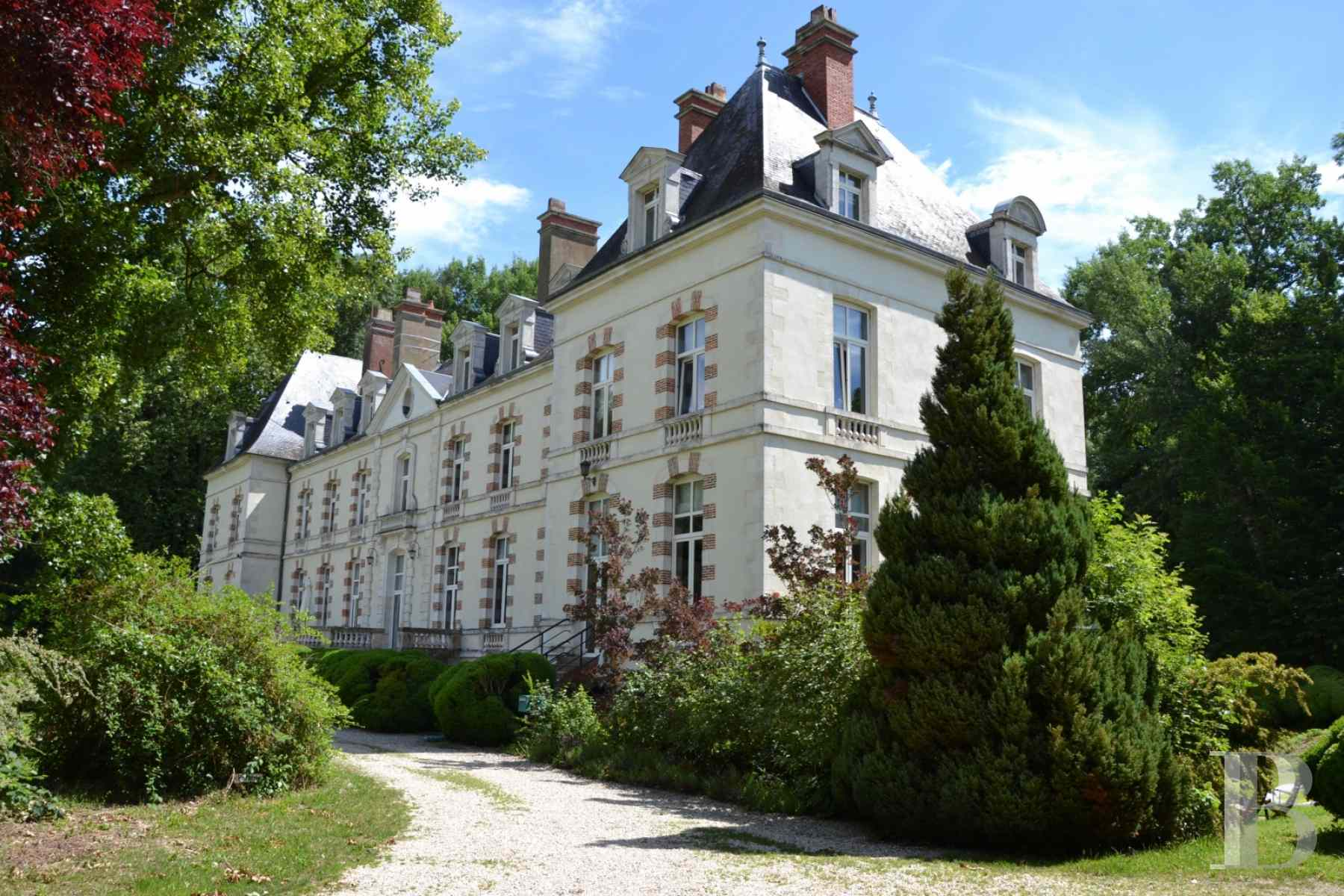chateaux for sale France burgundy 18th century - 2 zoom