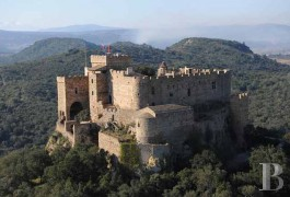 Castles / chateaux for sale - languedoc-roussillon - French MH listed-Cathar Fortress