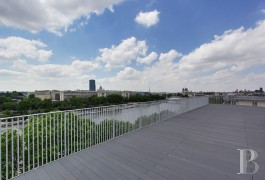 appartements a vendre paris penthouse terrasses - 6