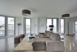 appartements a vendre paris penthouse terrasses - 2