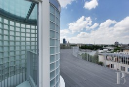 appartements a vendre paris penthouse terrasses - 8
