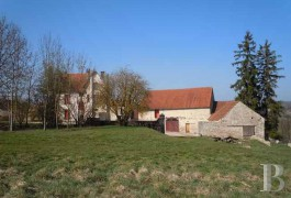 Village houses for sale - burgundy - In the Saint-Seine region,-Knights Templar barns
