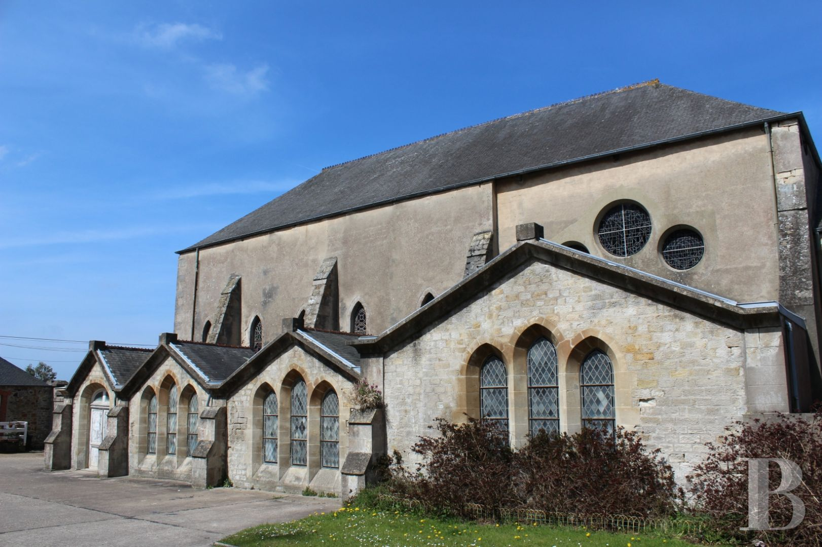 monastery for sale France lower normandy cotentin 19th - 1 zoom