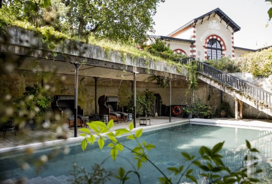 fA former 19th century factory transformed into a hotel and restaurant on the heights of Arcachon - photo N°10
