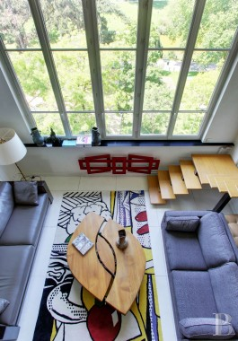 appartments for sale - paris - A 90 m², artist's studio, spanning two levels and facing Montsouris Park with its romantic lake