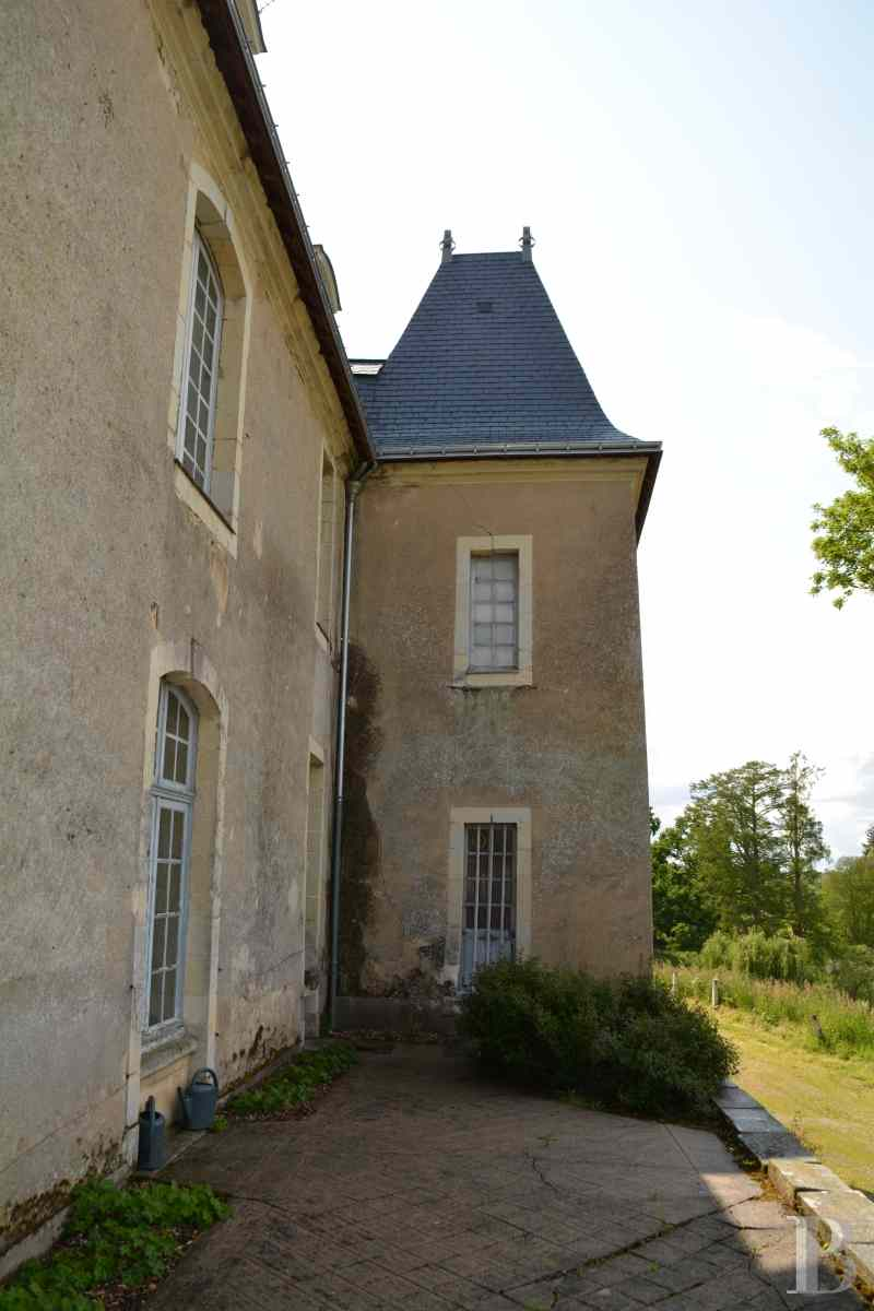 A 17th 18th Century Chateau Near To A Small Town In The