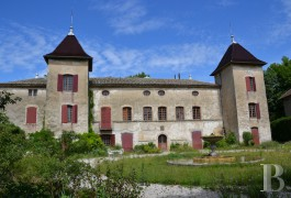 Castles / chateaux for sale - rhones-alps - 30 minutes from Lyon in the Rhone-Alpes region, 17th century castle