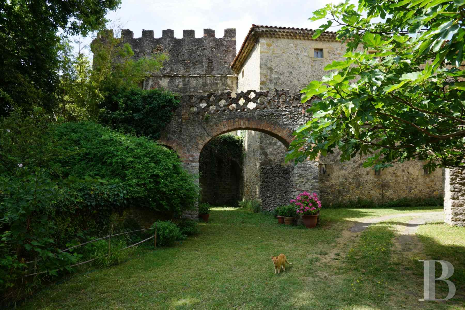 chateaux for sale France languedoc roussillon 17th century - 11 zoom