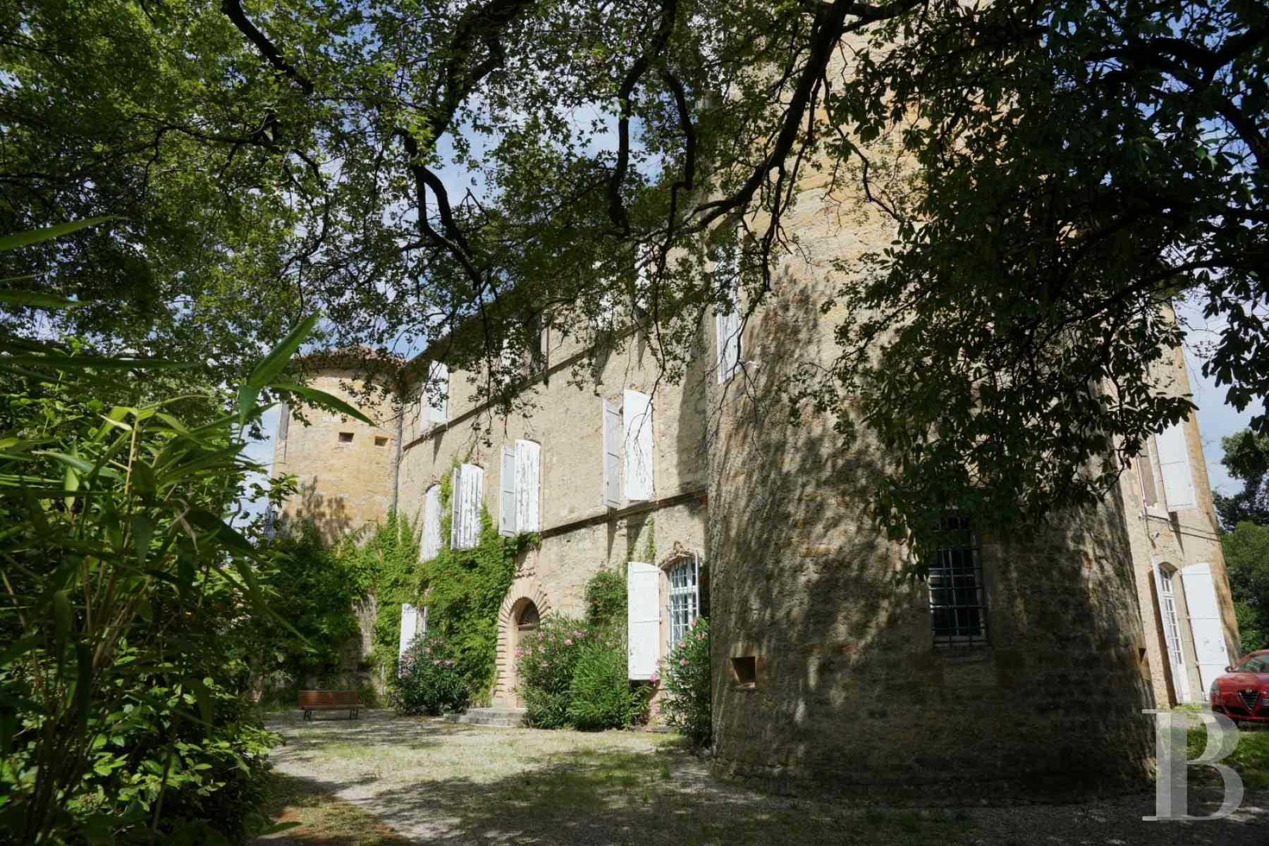 chateaux for sale France languedoc roussillon 17th century - 1 zoom