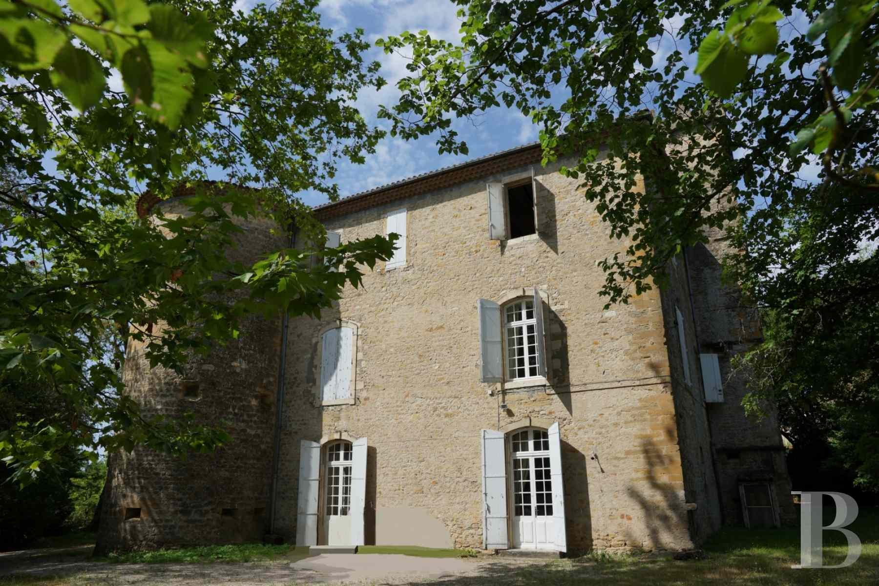 chateaux for sale France languedoc roussillon 17th century - 4 zoom