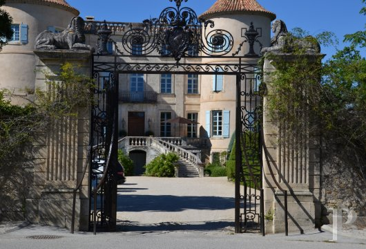 chateaux for sale France languedoc roussillon chateau 18th - 3