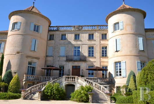 chateaux for sale France languedoc roussillon chateau 18th - 4