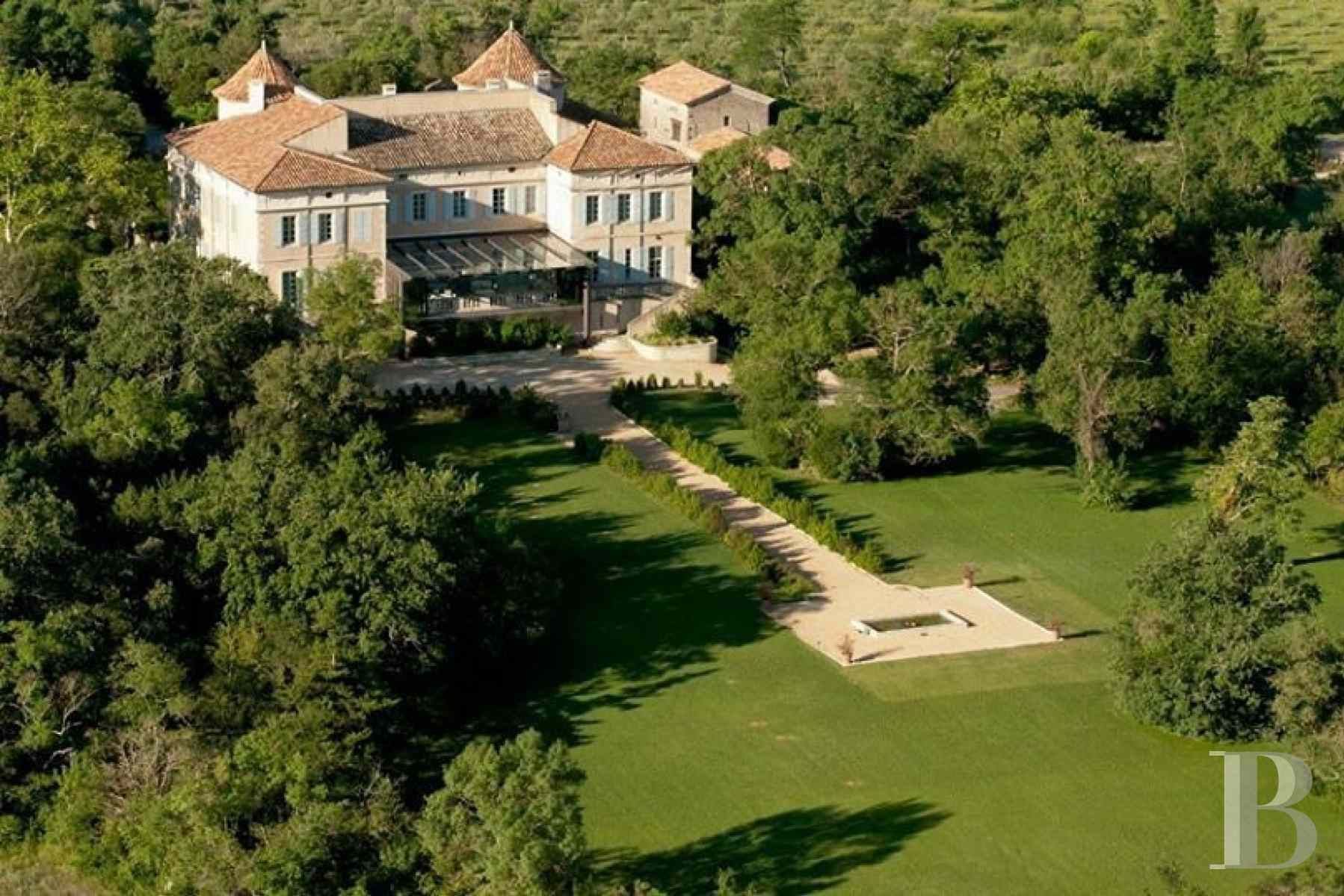 chateaux for sale France languedoc roussillon chateau 18th - 1 zoom