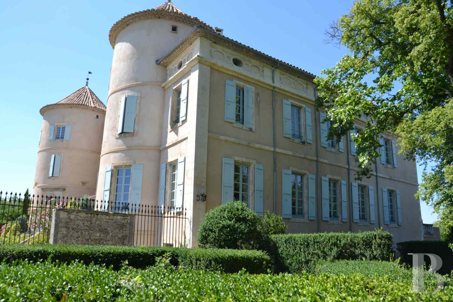 chateaux for sale France languedoc roussillon chateau 18th - 17 zoom