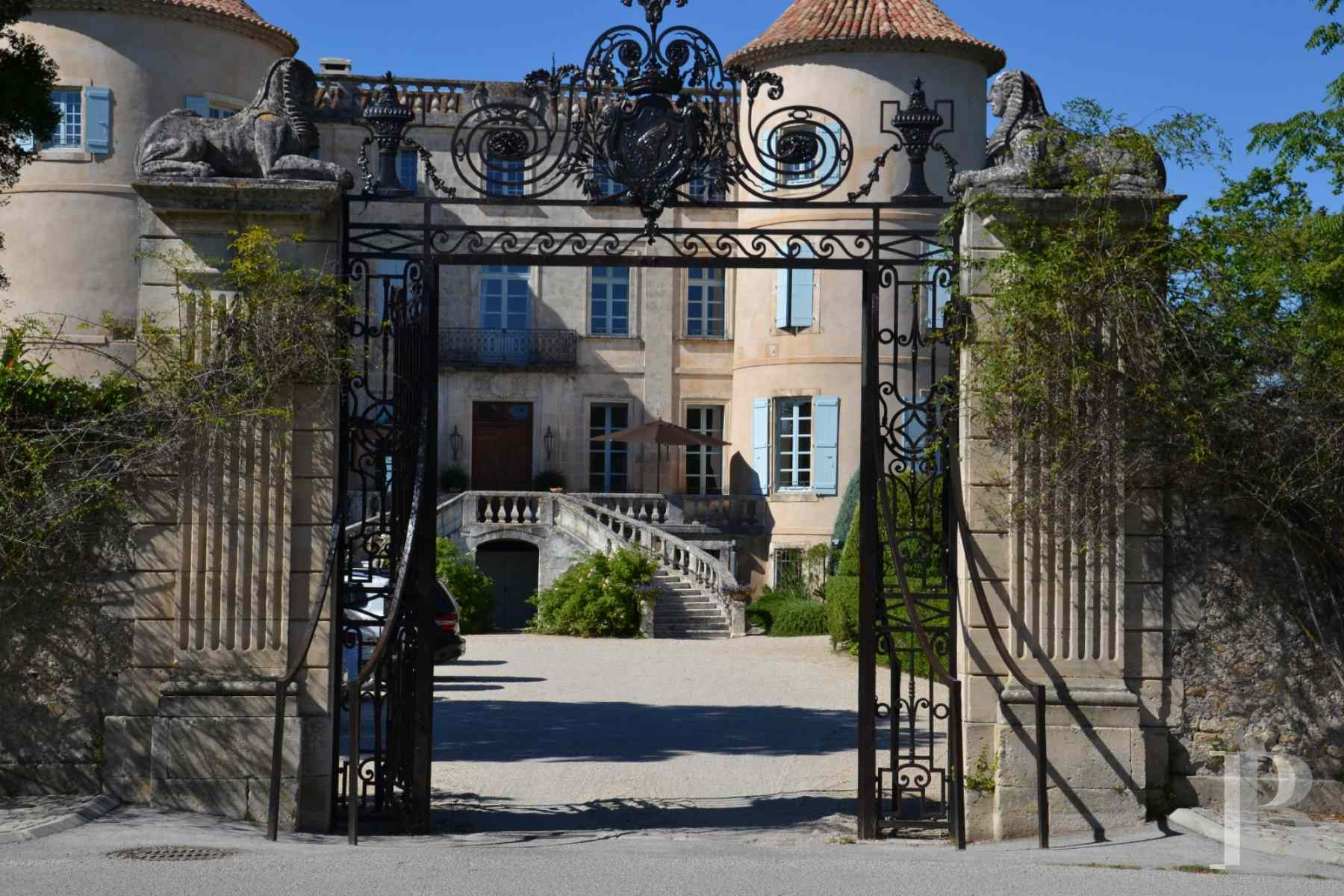 chateaux for sale France languedoc roussillon chateau 18th - 3 zoom