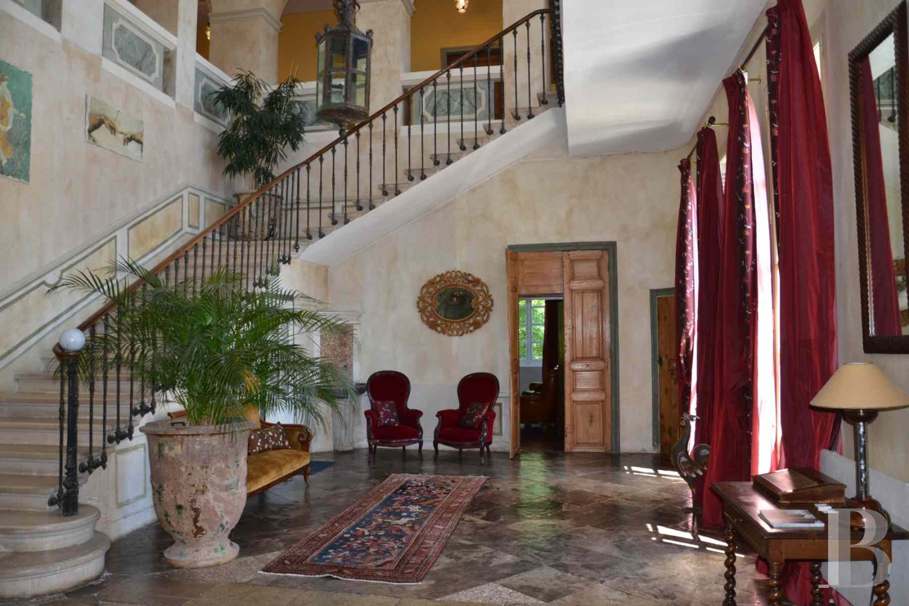 chateaux for sale France languedoc roussillon chateau 18th - 7 zoom