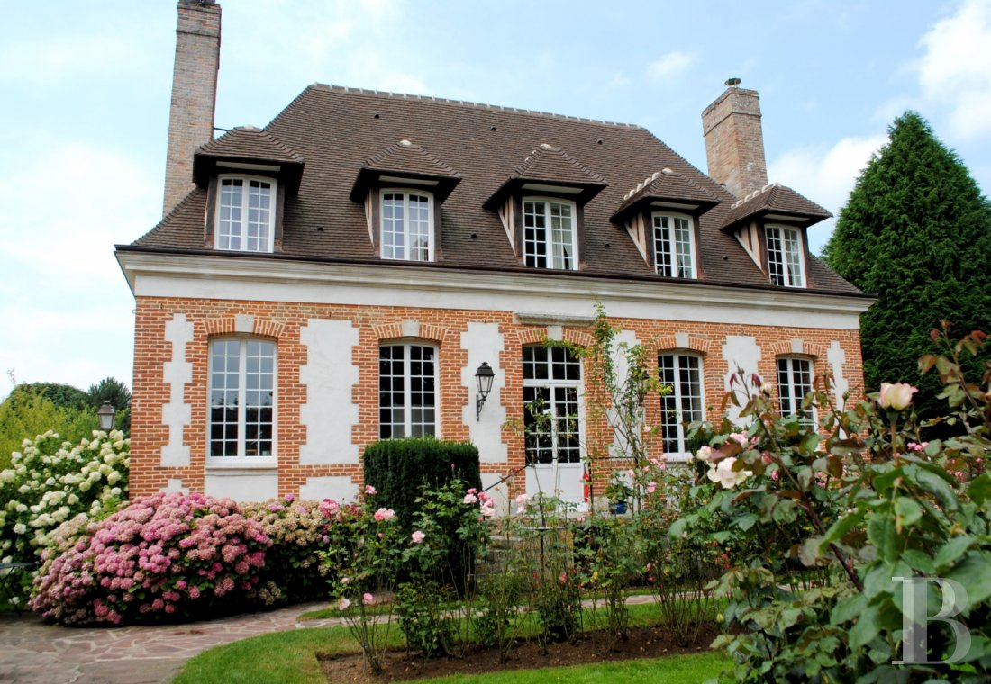 France mansions for sale upper normandy castle 17th - 1