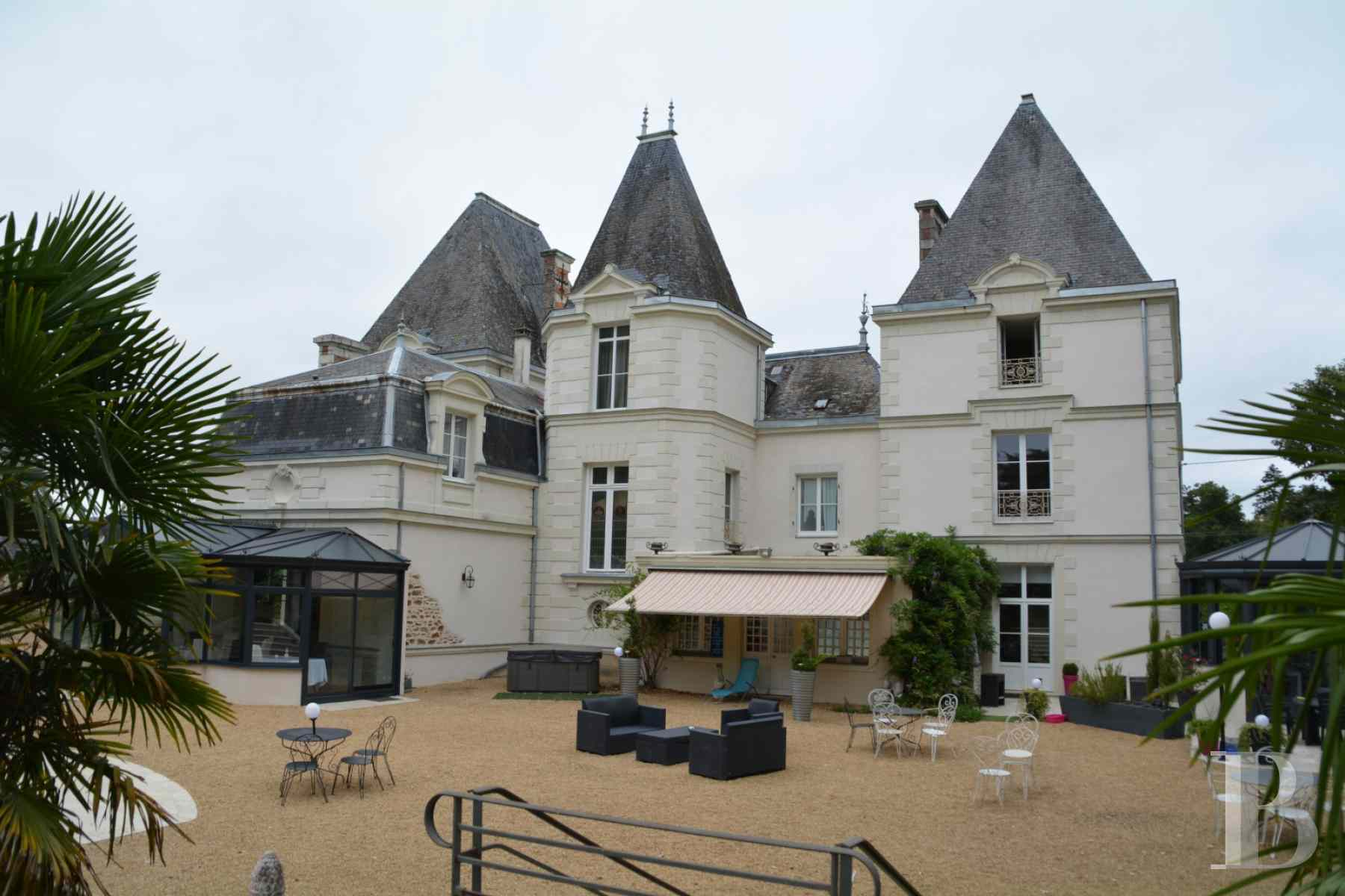 chateaux for sale France pays de loire 19th century - 1 zoom