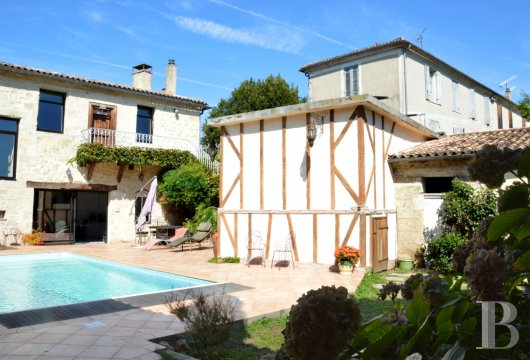 mansion houses for sale France aquitaine bordeaux region - 14