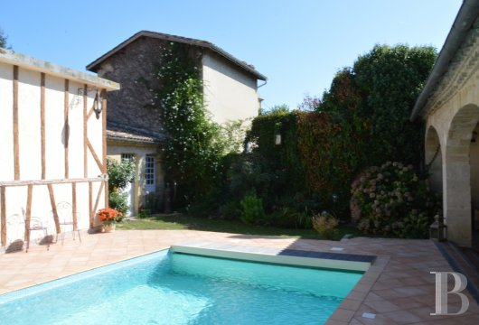 mansion houses for sale France aquitaine bordeaux region - 15