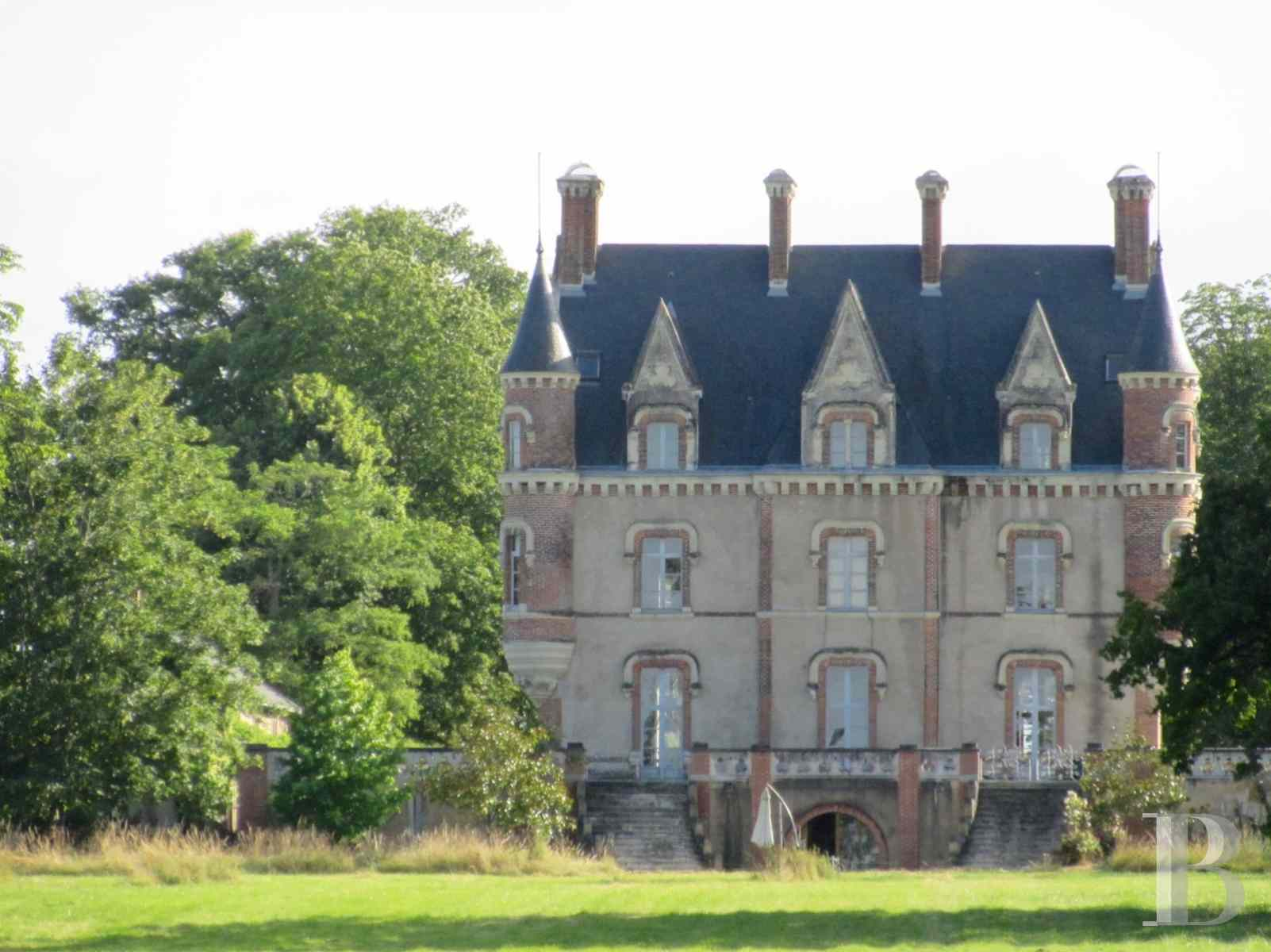 chateaux for sale France pays de loire manor house - 2 zoom